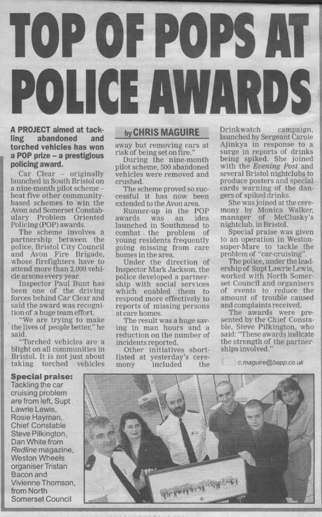 Bristol Evening Post 21 Mar 02