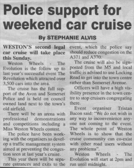 The Weston Mercury 23 Aug 02