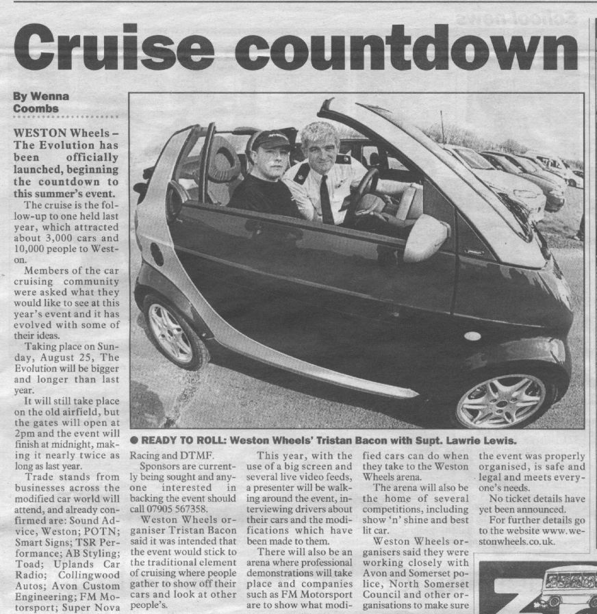 The Weston and Worle News 4 Apr 02