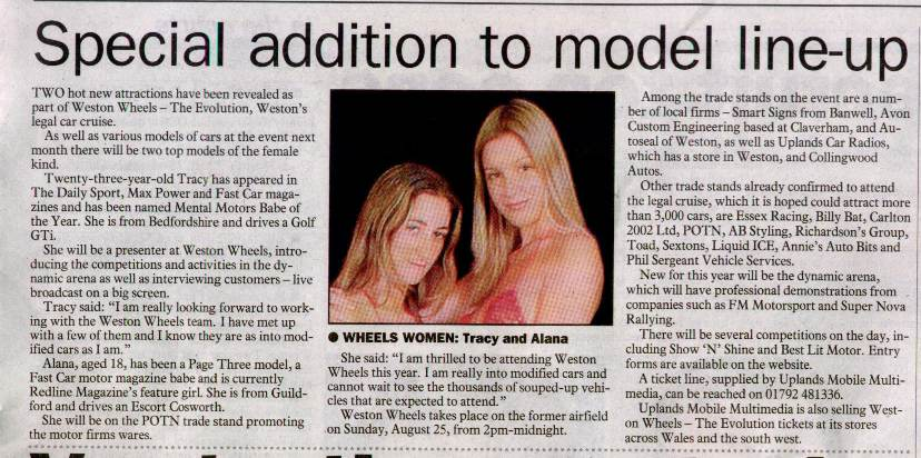 The Weston and Worle News 17 Jul 02