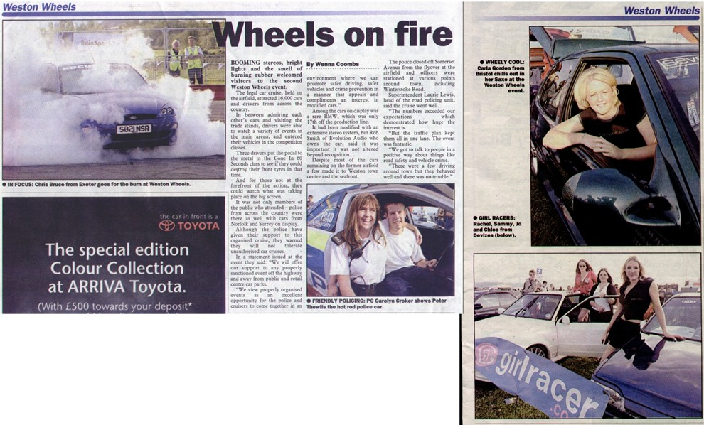 The Weston and Worle News 29 Aug 02